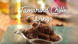 Tamarind Chilly Wings - How To Make Sweet And Sour Chicken Wings - Sticky Chicken Wings