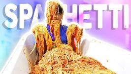 SPAGHETTI BATH CHALLENGE