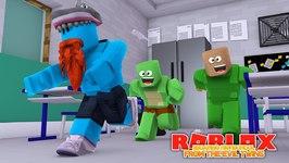 ESCAPING LITTLE LIZARD HIGHSCHOOL !!!! Sharky Gaming - Roblox