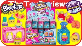 Full Case Shopkins Season 8 World Vacation Americas Blind Bags Unboxing Toy Review