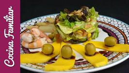 Ensalada de mango y mariscos - Recetas caseras