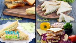 3 Quick Veg Sandwich