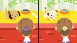 How Much Is That Doggie In The Window - Childrens Song - Spot The Differences