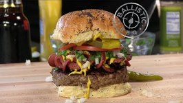 How To Make A Chicago Dog Burger