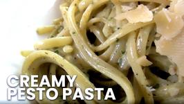 Easy Creamy Pesto Pasta