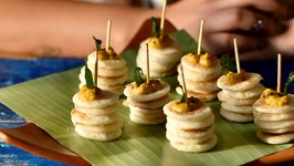 Party Mini Dosa / Easy Party Appetizers