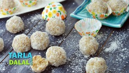 Coconut Laddoo - Nariyal Ka Ladoo