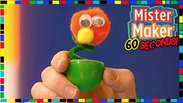 Wobbly Bug - How To Make In 60 Seconds - Mister Maker