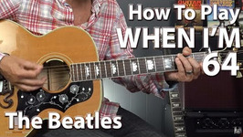 When I'm 64 by The Beatles - Guitar Lesson