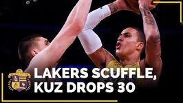 Lonzo Ball On Lakers Vs. Suns Scuffle, Kyle Kuzma - Matchup Nightmare