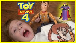 Toy Story 4 - Zurg And Lotso Hide Seek Mystery Game - Woody Buzz