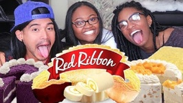 Non-Filipinos Try Red Ribbon For The First Time