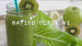 Batidos Detox 2 / Batido De Kiwi Para Adelgazar / Batido De Kiwi / Batidos Con Kiwi / Zumos Verdes