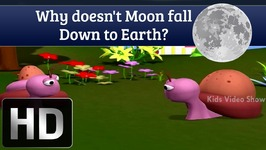 Why Doesnt Moon Fall Down To Earth - Interesting Facts About Science