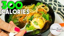Pure Veggie Ramen 300 Calorie - Protein - Vitamins - Gluten Free - Veggie Noodle Meal