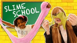 Slime School Teacher vs Silly Students Sneak Slime in Class - New Toy School