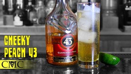 How To Make The Cheeky Peach 43- Licor 43 College Cocktail Style