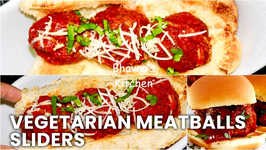 Vegetarian Meatballs Sliders