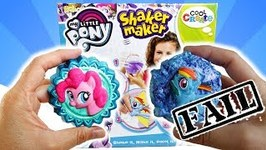 My Little Pony DIY Shaker Maker - Learning from my fail