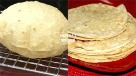 Homemade Soft Fluffy Roti / Chapati / Phulka