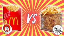 Mcdonalds Vs Homemade  DIY Mcdonald's French Fries Recipe