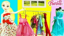 How To Make A Miniature Doll Clothes Rack Closet And Clothes Hangers For Dolls