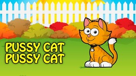 Pussy Cat Pussy Cat - Animation English Nursery Rhyme For Children