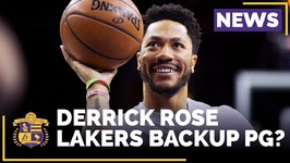 Could Derrick Rose Be The Lakers Backup Point Guard