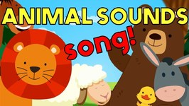 These Are the Sounds of Animals - Song for Kids and Toddlers!