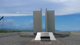 23 The Japanese Memorial on Mount Austin from World War 2, Solomon Islands