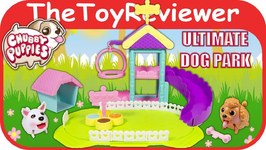 Chubby Puppies Dog Park Playset Unboxing Review