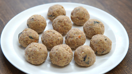 Methi Ladoo Recipe In Marathi -Healthy Methi Laddu - Archana