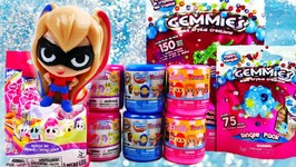 Barbie My Little Pony DC Super Hero Girls Fashem and Gemmies Surprises