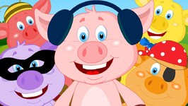 Five Little Piggies - Nursery Rhyme Cartoons For Children Kids Tv Nursery Rhymes