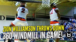 Zion Williamson 360 Windmill In Game Channels His Inner Vince Carter - 1 On Sports Center