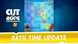 Cut the Rope- Experiments - Bath Time Update