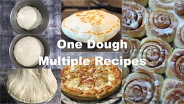 How To Make Pizza Bread Multi-purpose Dough Video Recipe With Tips And Tricks