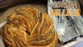 Corona Rellena de Jamón y Queso - Concurso Blogueros Cocineros Canal Cocina - Trenza Rellena