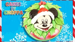Mickey Mouse Christmas Cake  (How To)