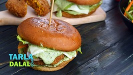 Spicy Paneer Burger