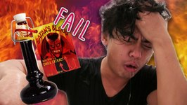 Extreme Hot Sauce Challenge Fail - Would You Rather