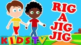 Rig A Jig Jig - Nursery Rhyme For Kids  And Children -  Nursery Rhymes For Toddlers