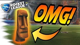 Rocket League's BIGGEST Secret- The FULL STORY Behind the MOAI EASTER EGG -Tips-Gameplay