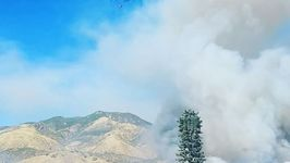 Fast-Moving Wildfire Burns Highland, California