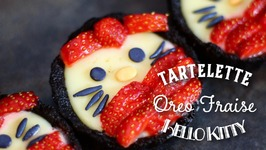 Recette Tarte Oreo Hello Kitty / Tart Hello Kitty