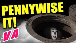 Pennywise The Creepy Clown - Beware It Lives in Sewers