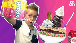 Kids Make The Ultimate Cereal Challenge Food Games And Family Fun