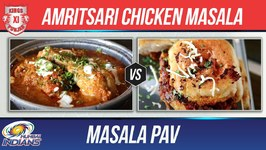 Amritsari Chicken Masala - Masala Pav - Kxip Vs Mi - Indian Culinary League - Indian Recipes - Smita