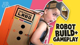 Nintendo Labo Gear Test Robot Build And Gameplay