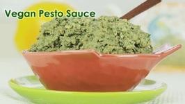 Vegan Pesto Sauce With ChickPeas